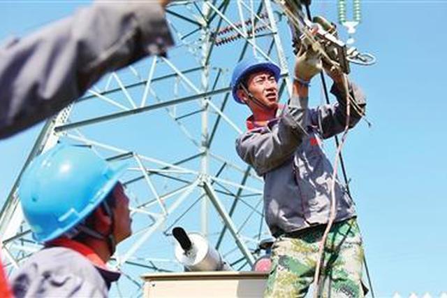 天津南蔡500千伏变电站配套施工基本完工