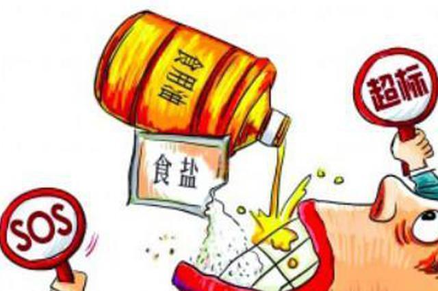 津城居民膳食结构监测出炉:油盐摄入量均超标