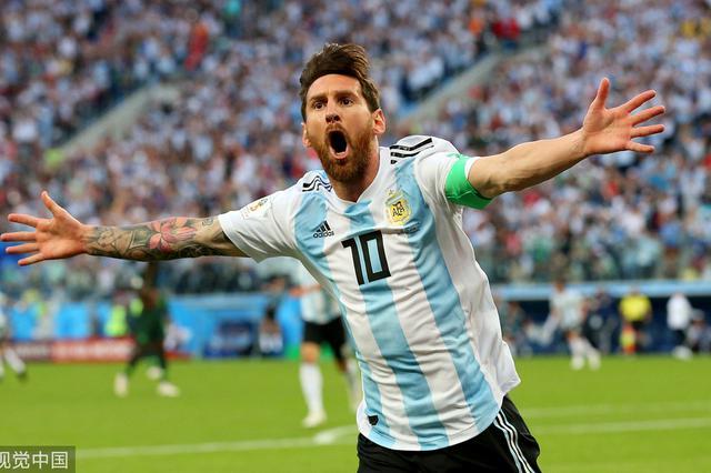 打破僵局拯救阿根廷队 梅西获全场最佳球员殊荣
