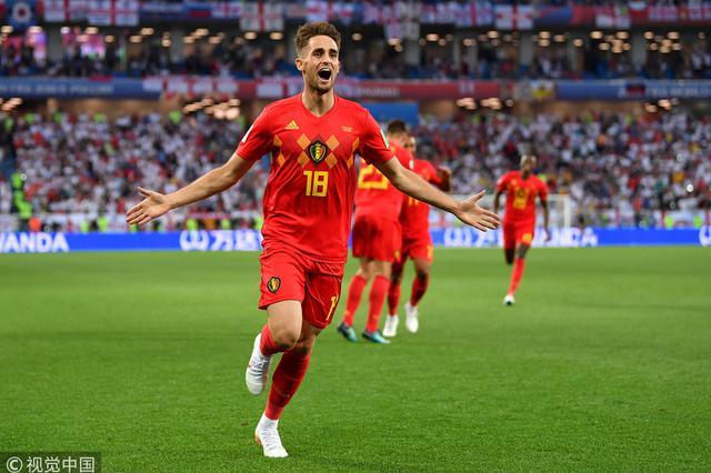 世界杯-贾努扎依破门 比利时1-0英格兰获小组头名
