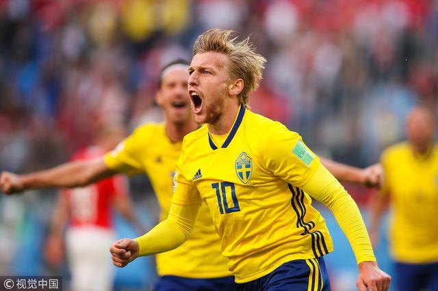 世界杯-福斯贝里破门 瑞典1-0淘汰瑞士挺进8强