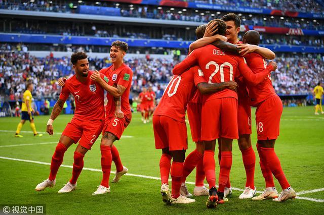 世界杯-马奎尔阿里各建功 英格兰2-0瑞典进四强