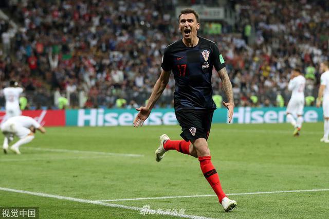 世界杯-曼朱基奇加时绝杀 克罗地亚2-1英格兰进决赛