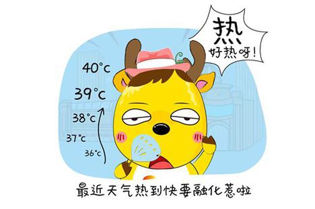 今日津城闷热继续 最高气温35℃