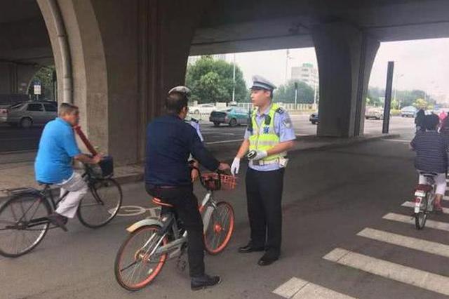 天津交警又有大动作 行人、机动车都留点神