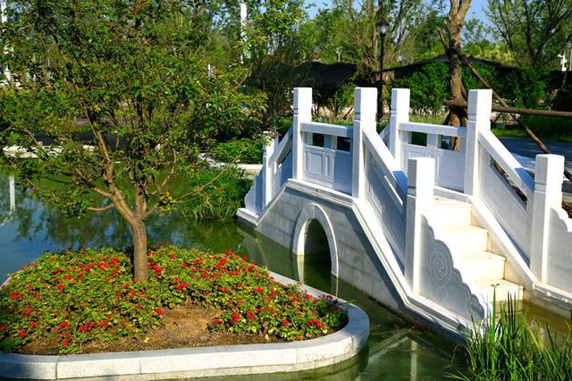 中国国际园林博览会天津园本月底竣工