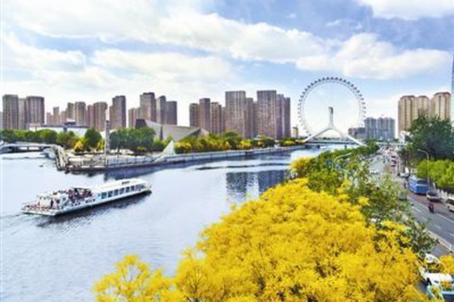 今年中秋假期天津天朗气清宜赏月