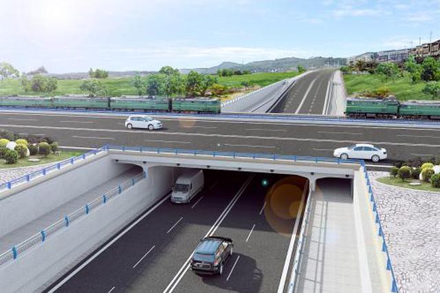 中纺道地道桥通车在即 两大主干道通行压力将缓解