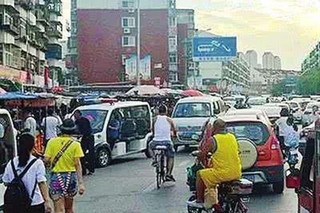 天津最大占路市场拆除复路施工现场见闻