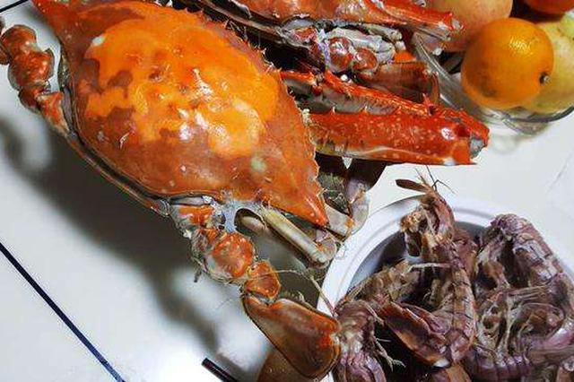 节前螃蟹皮皮虾降价 黄金周您敞开了吃