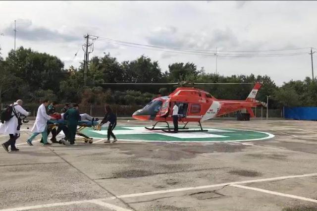 60多公里22分钟 直升机帮助天津患者空中转院