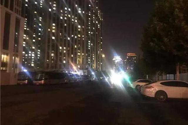 天津祿安大街約300米路段 夜間通行不便