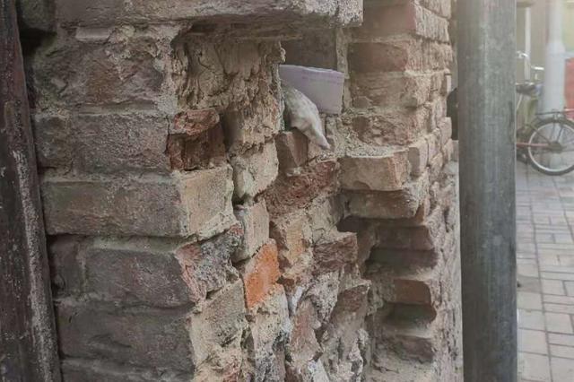 文兴里房屋损坏严重 小白楼房管站商讨解决方案