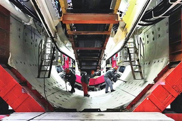 地铁4号线南段开始盾构施工 明年将启北段工程