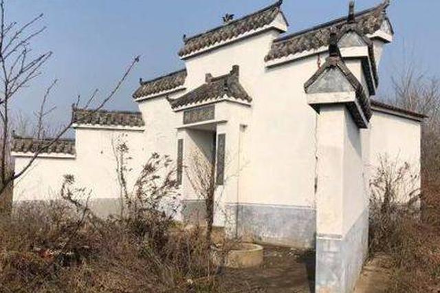 """南京农村现""""墓地村"""" 看起来是房子其实是墓地"""