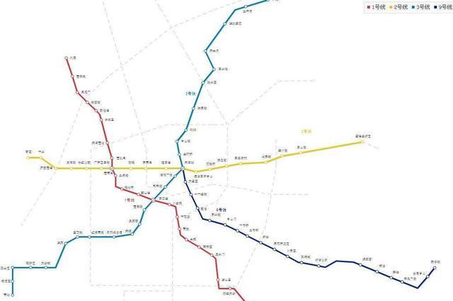 天津地铁建设计划公布 1号线东延线将开通三站