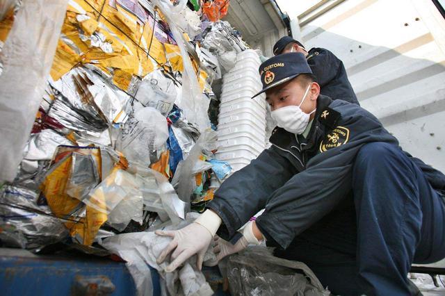 """天津港""""洋垃圾""""见底清零 处理固体废物10773吨"""