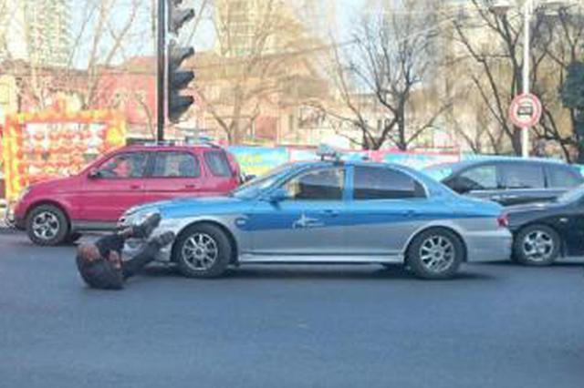 出租车司机协同两名乘客碰瓷被识破 三人被刑拘