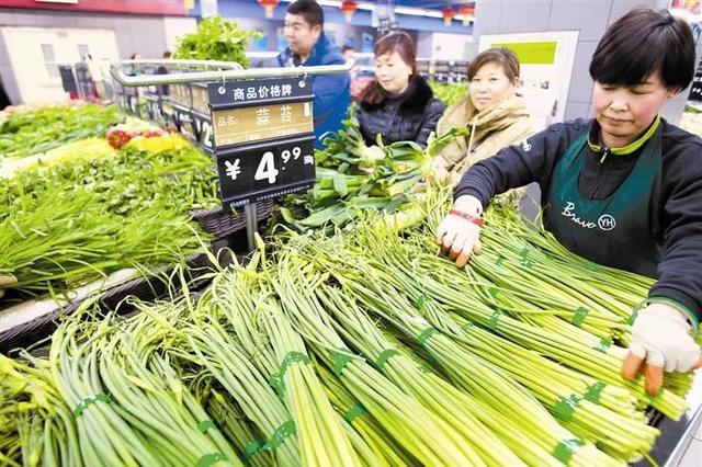 津城雪后蔬菜供应充足 价格稳定