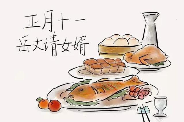 """正月初十一又是""""姑爷节""""?老丈人喊你吃饭喽"""