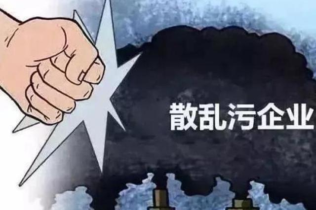 """天津两年整治2.2万""""散乱污""""企业"""