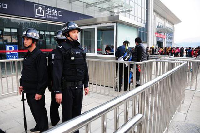 天津站铁警春运以来抓获24名在逃人员