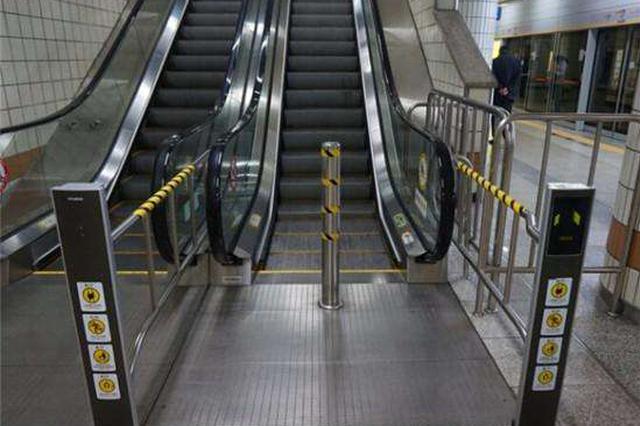 天津地铁1号线电扶梯提升改造