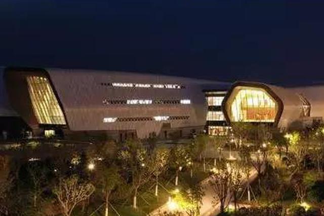 国家海博馆亮灯 为开放做准备