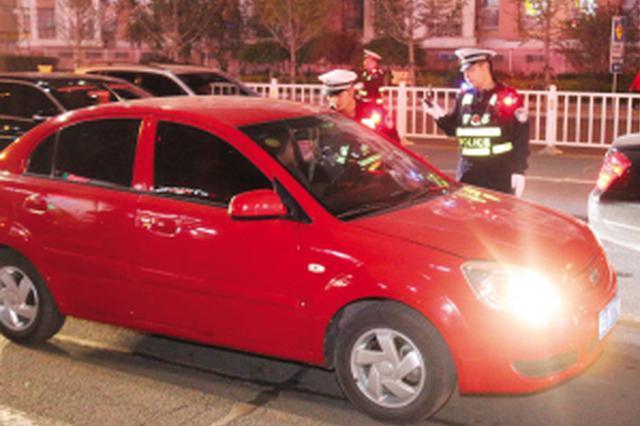 环外10区一夜查交通违法1190起 酒驾司机谎称喝了藿香正气