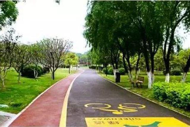 天津首条慢行交通系统路段试运行
