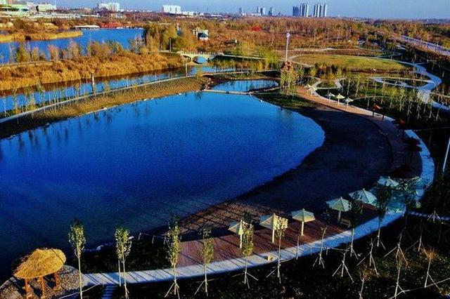 新区最大海景公园加速建设 欢乐岛娱乐岛年内具备开放条件