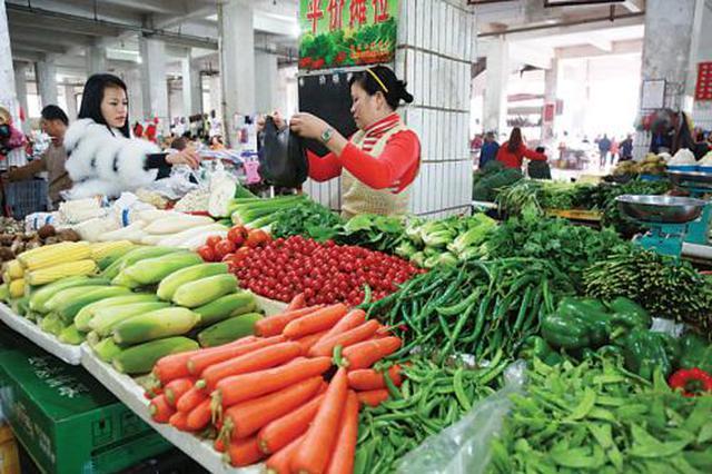 6月上旬已降至近三年最低点 津城菜价最近降了