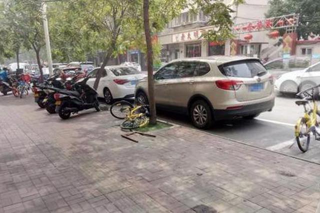 聚焦文明条例:河东清拖占路停放废弃车423辆