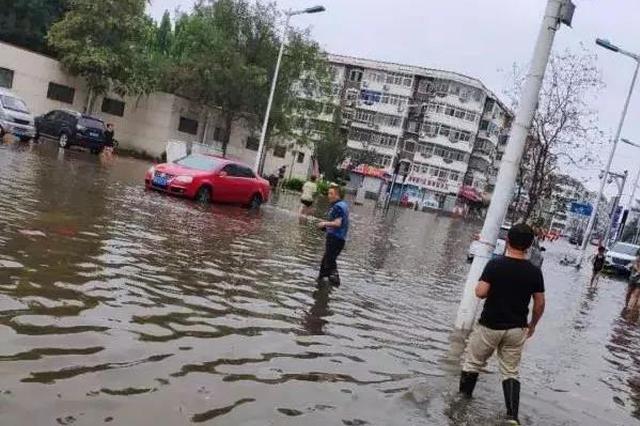 """天津最新""""积水地图""""来了 有你家门口吗?"""