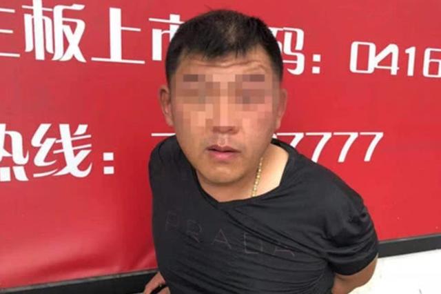 """天津警方抓获一名""""变装""""窃贼"""