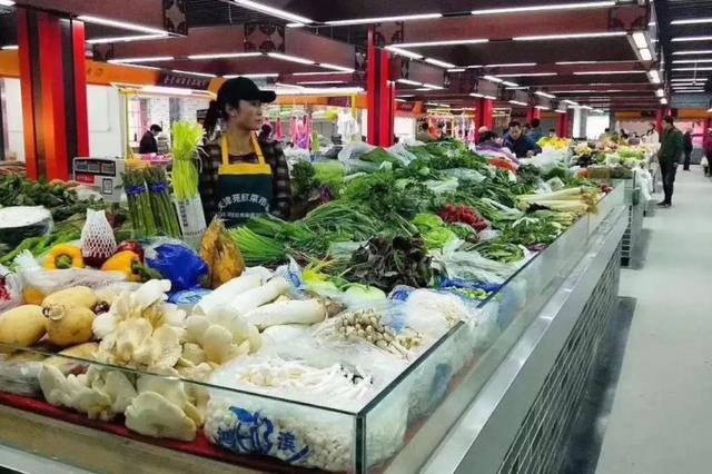 让买菜更方便 7个民心工程菜市场开业运营