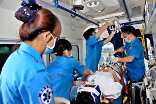 天津院前医疗急救体系建设初见成效 急救反应平均11分36秒