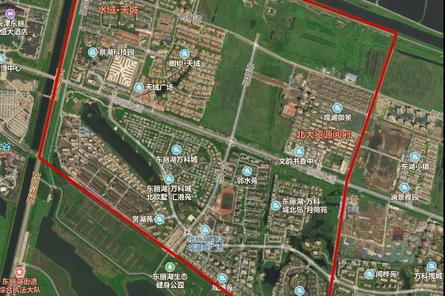 东丽湖再出规划:9年制学校、地铁有消息了