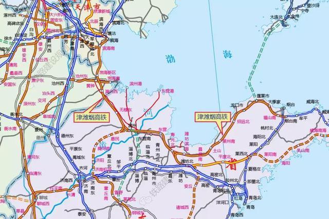 """天津人期待的这条""""看海""""高铁又有新进展"""