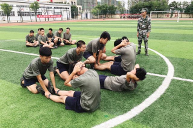 天津首批预定新兵役前训练正式开启(图)