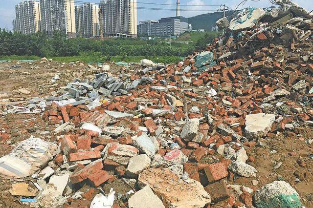 河北区京津城际沿线成片裸露垃圾完成清理
