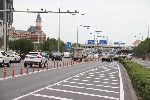 天津快速路重要桥口交通组织有调整