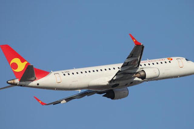 天津航空冬春航季新增68条国内国际航线