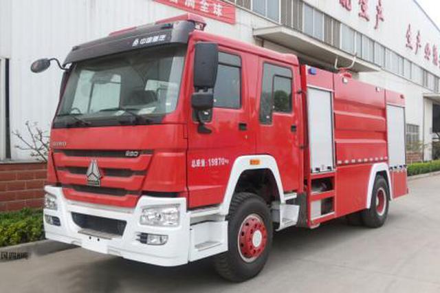 4人楼顶平台烧纸钱 引来四辆消防车