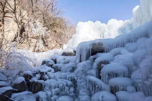 盘山景区实行冬季游览路线