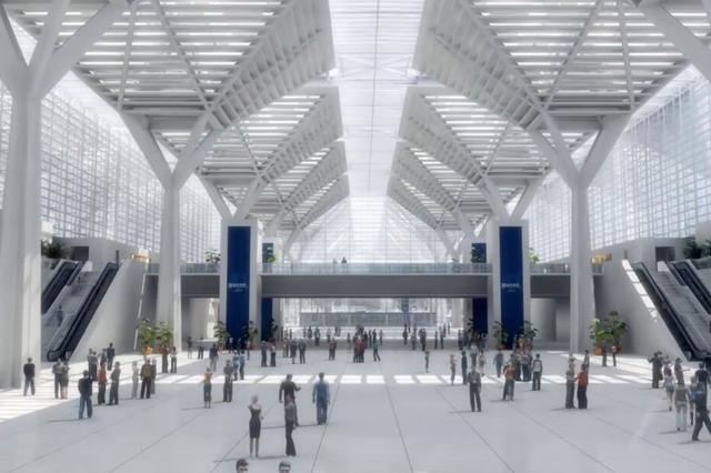 国家会展中心2021年6月投用 配建五星级酒店