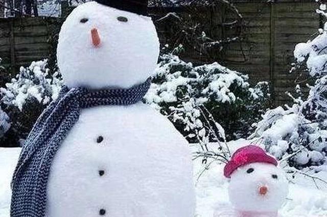 长三角下雪了!天津的第一场雪也有眉目了