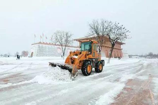 天津除雪车辆设备调试完毕