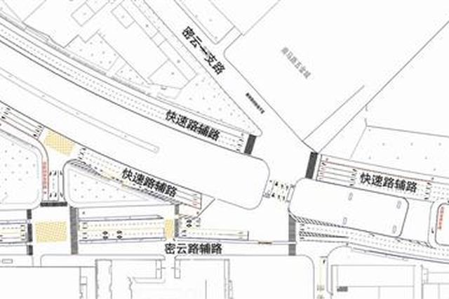 天津云河桥桥下通行有变 过往车辆按指示通行