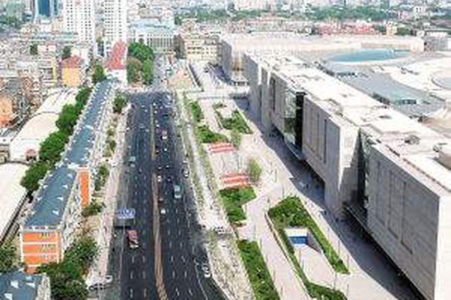 乐园道恢复正常 途经广东路交口注意车道变化